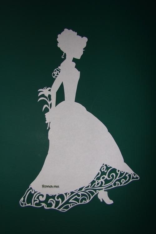 Charlotte - papercut, bookcover - rona-5961 | ello