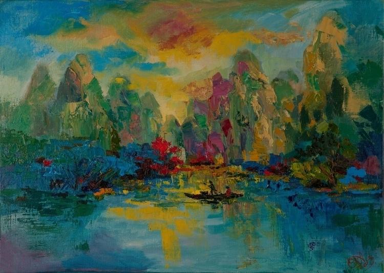 Forest walk 50x60 Oil canvas. 2 - tanya_vasilenko   ello