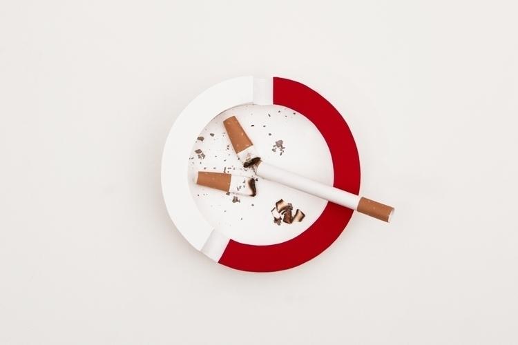 ashtray, paper, paperart, papercraft - carolin_wanitzek | ello