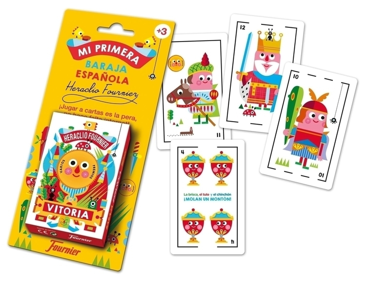 Spanish deck cards kids - toy, funny - stocklina-1295 | ello