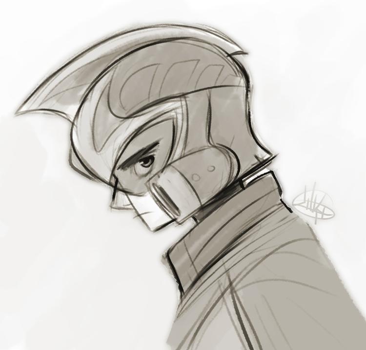 quick random sketch. hope  - luigil-2352 | ello