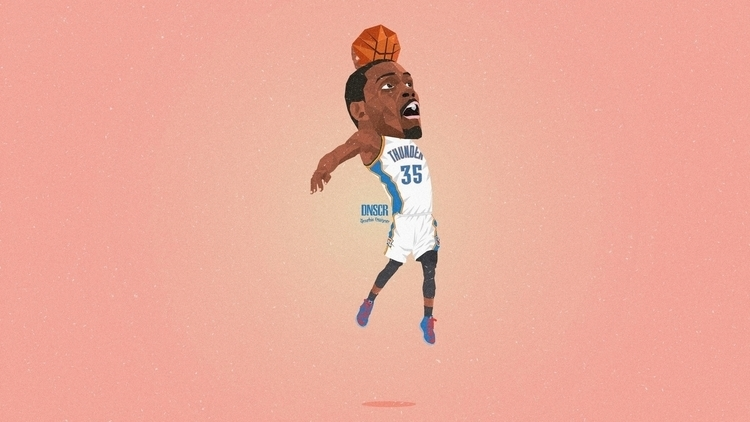 Kevin Durant - kevin, basketball - dnscr | ello