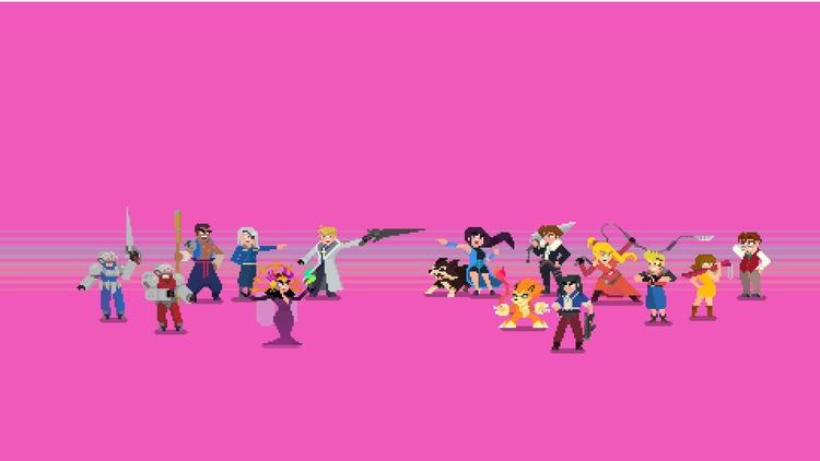 Final Fantasy VIII Characters  - planckpixels | ello