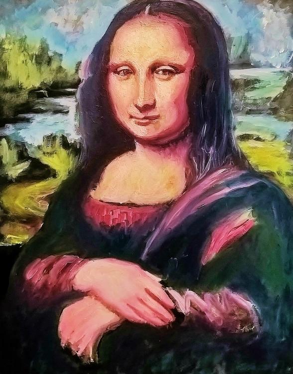 Impressions Mona Lisa - illustration - tonyflake2 | ello