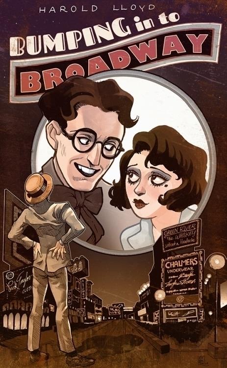 Harold Lloyd Bebe Daniels Bumpi - drawlequin | ello