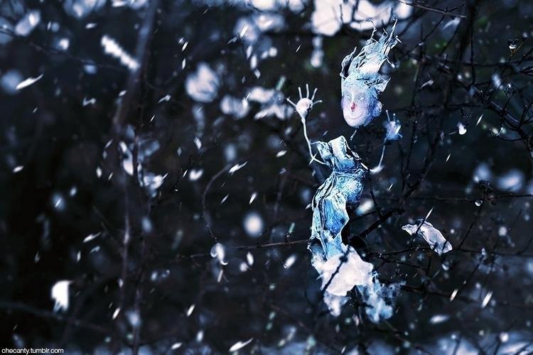 faerie, frost, doll, sculpture - checanty | ello