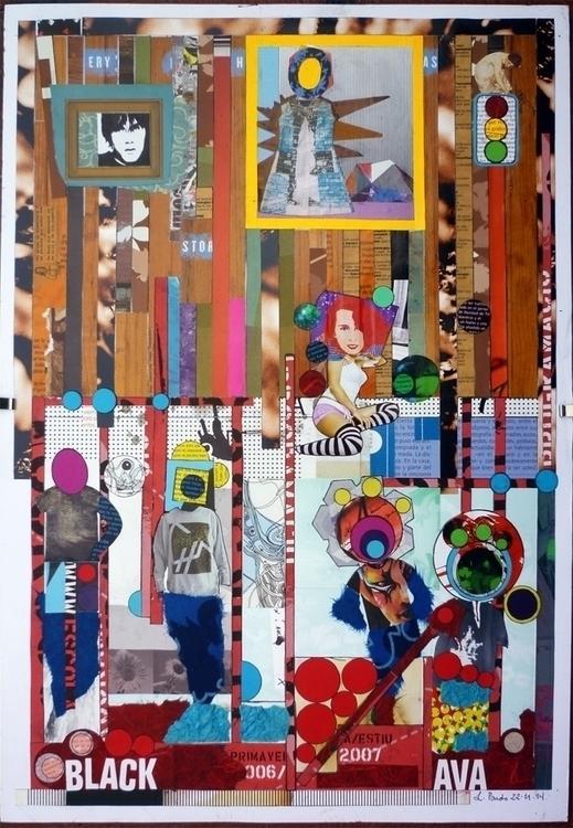Ambar collage - collageart - luiyinoise | ello