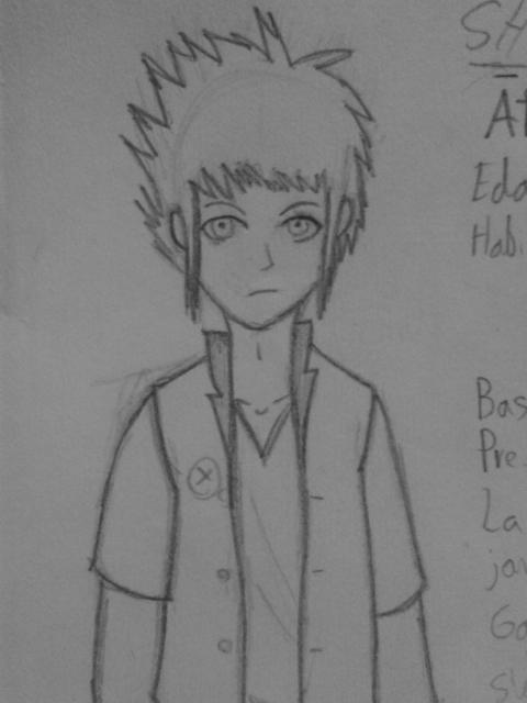 Character design - pencil, oc, characterdesign - gillpradi | ello