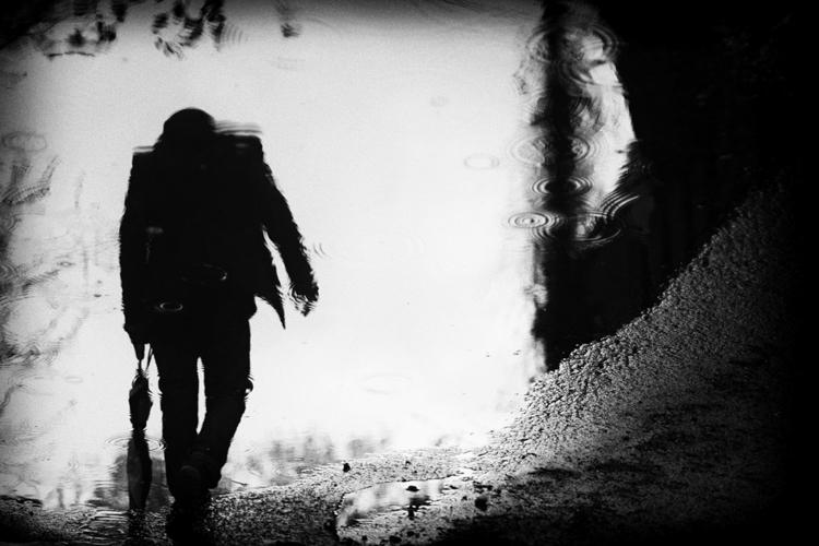 reflection, photography, blackandwhite - laurentgiguere | ello