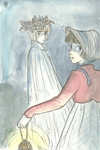 Led Gentry - fairytales, illustration - serenedaoud   ello