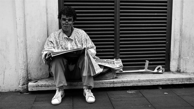 du mot doré - rome, homeless, rhomeless - stefanolazzaro | ello