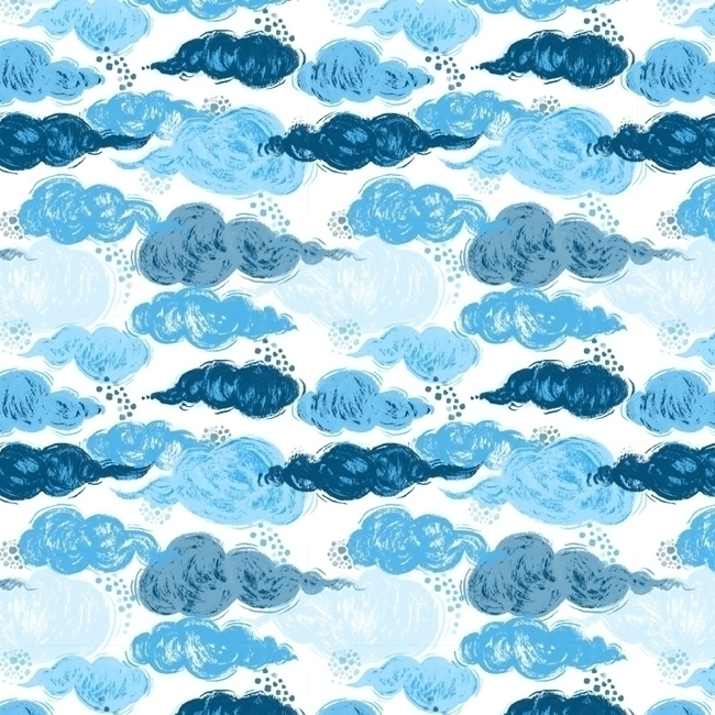 pattern, patterndesign, sky, clouds - stephaniekubo-8873 | ello