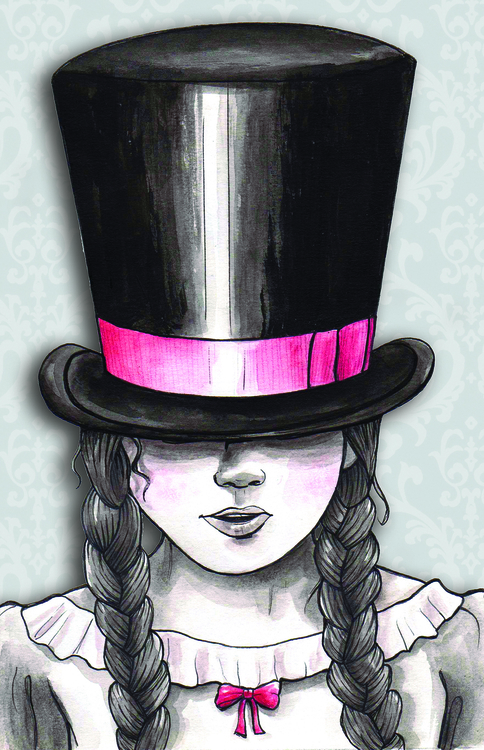 girl, tophat, victorian - muttonchops-4263 | ello