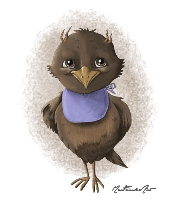 DAY 2 - Pío-Pío, bird wanted re - marfandosart | ello