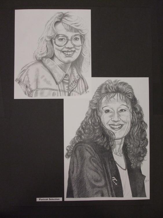 Wives Club - drawing, portrait, pencil - stevenhart | ello