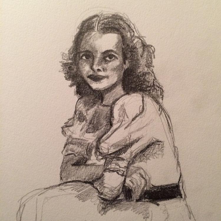 Late night sketch 8/28/2015 - drawing - meganpellino | ello