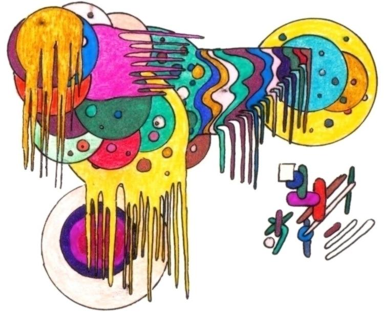 Orbits decay - #abstract, illustration - cheechwiz | ello