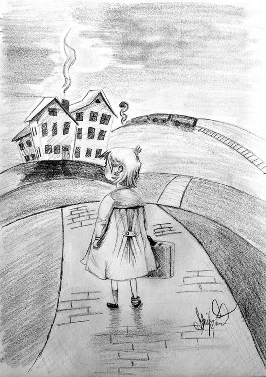 sketch. imagine orphan, final g - abigailkraft | ello