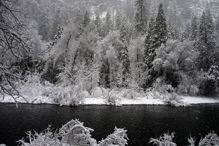 Yosemite: Snow Merced - photography - cannonball-2457 | ello