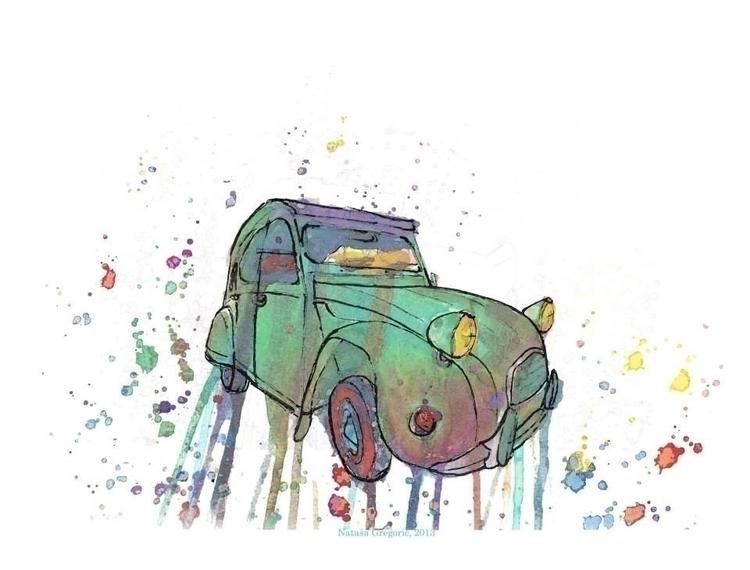 Frozen / Life Watercolors, gouc - zoya2016 | ello