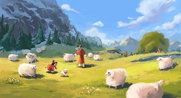 illustration, animation, painting - milee_kim | ello