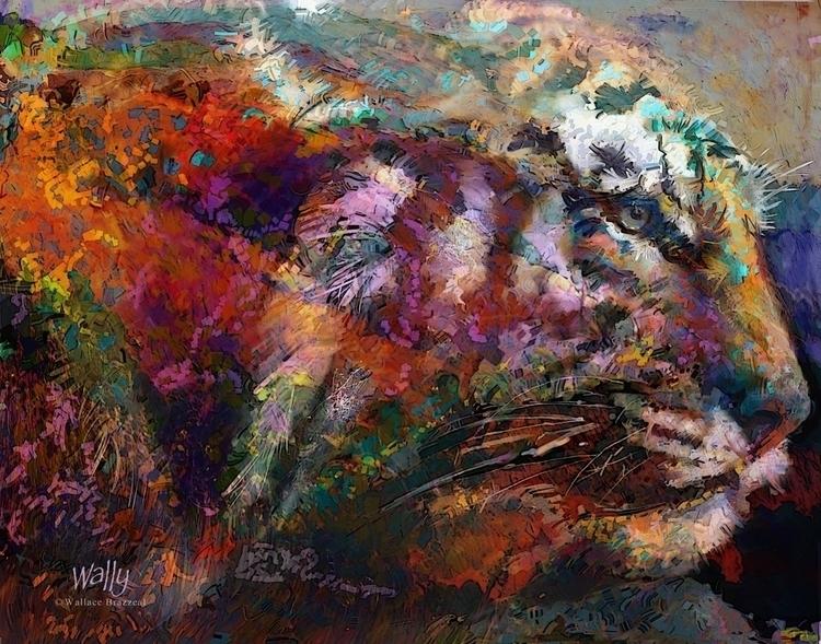 Tiger Head - brazwally   ello