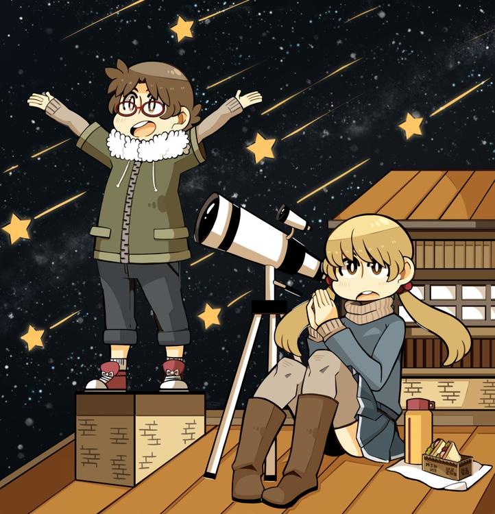 stardust - originalcharacter - heavywoodenbox | ello