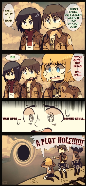 yep - attackontitan, comic - heavywoodenbox | ello