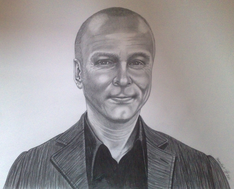 Detailed Pencil Drawing Andy Sc - stevenhart | ello