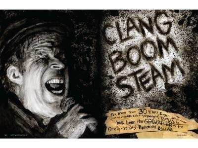 Tom Waits editorial illustratio - graceblevins | ello