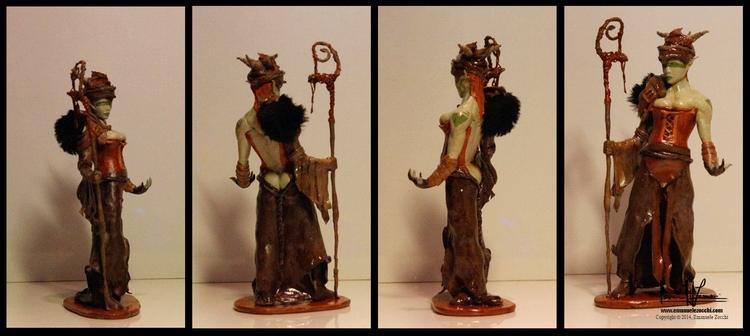 Druid! Ez - conceptart, #modeling - ez-1266 | ello