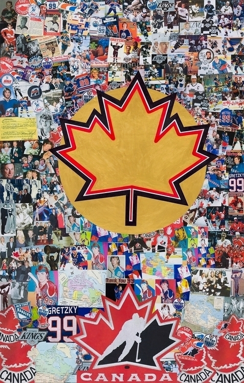 Saint Gretzky Collage Created H - stevenhart | ello