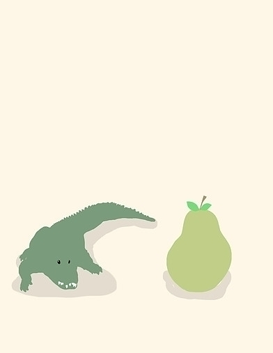 Alligator Pear - alligatorpear, alligator - derptin | ello