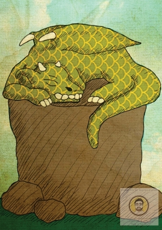 Dragon Adobe Illustrator - dragon - whistlingbear | ello