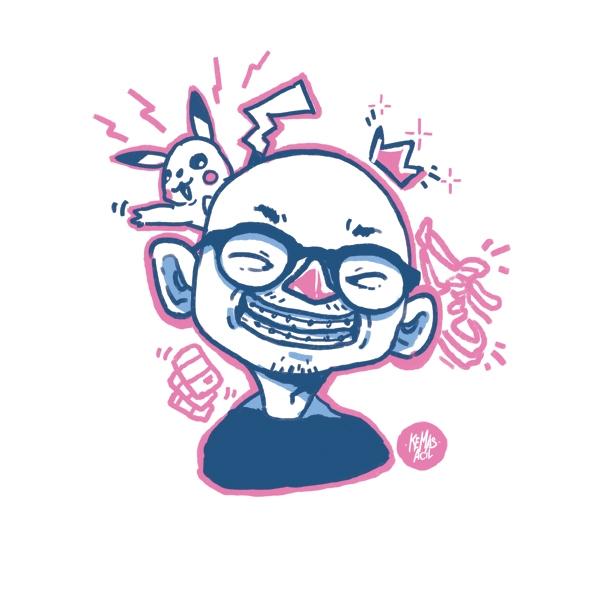 Erick King - portrait, character - kemasacil | ello