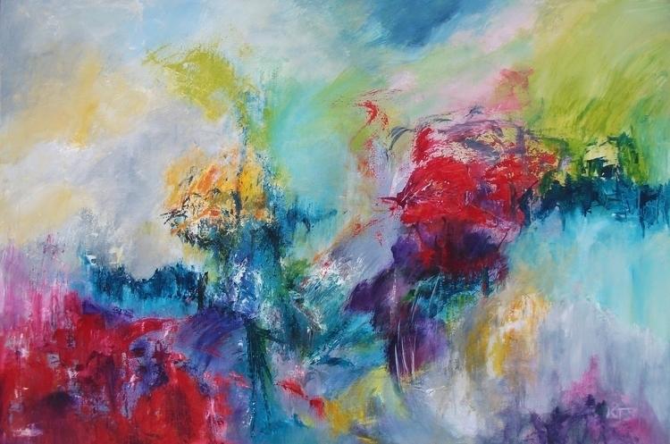 Au Contraire (sold - painting - xplore-1239 | ello