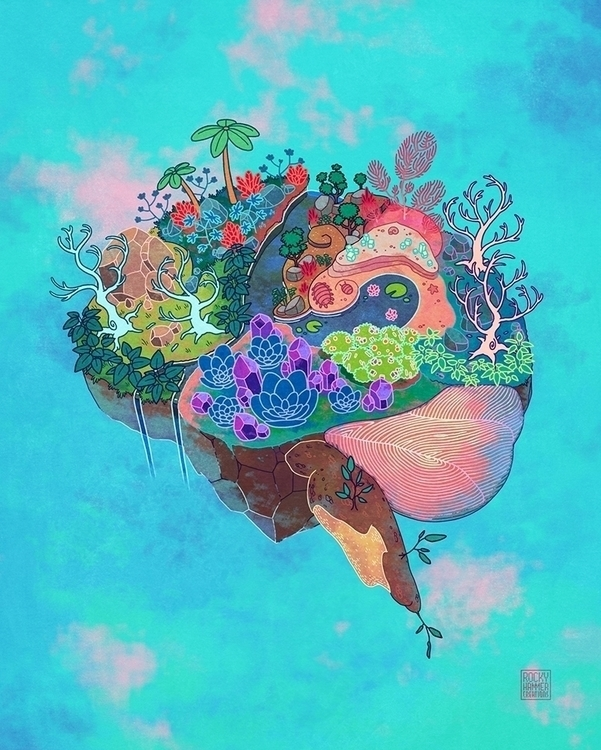 artwork Imaginarium Planetarium - rocky-1221   ello