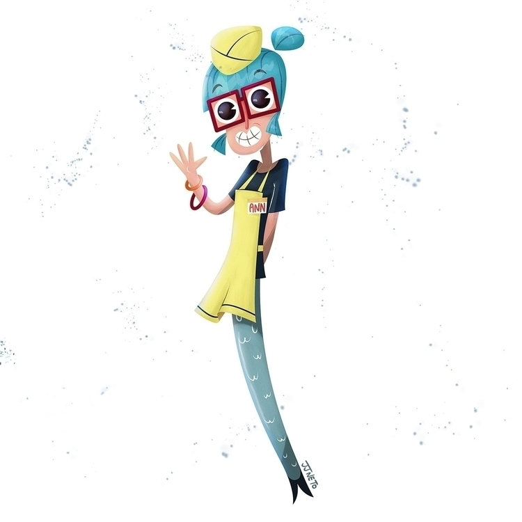 Mermaid Character Design Challe - jjneto | ello