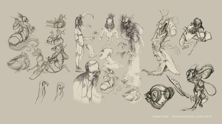 Creature Concepts - creature, creaturedesign - schewy | ello