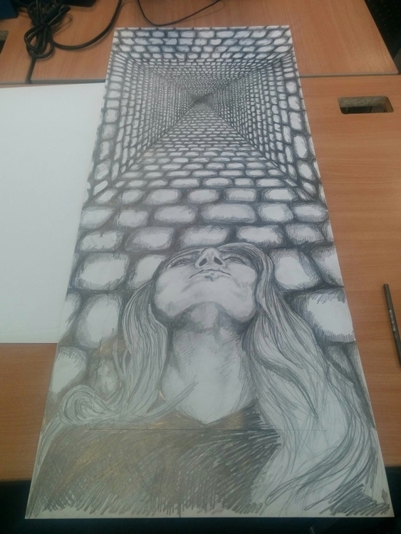 Cassandra - Drawing, Pencildrawing - maurad | ello