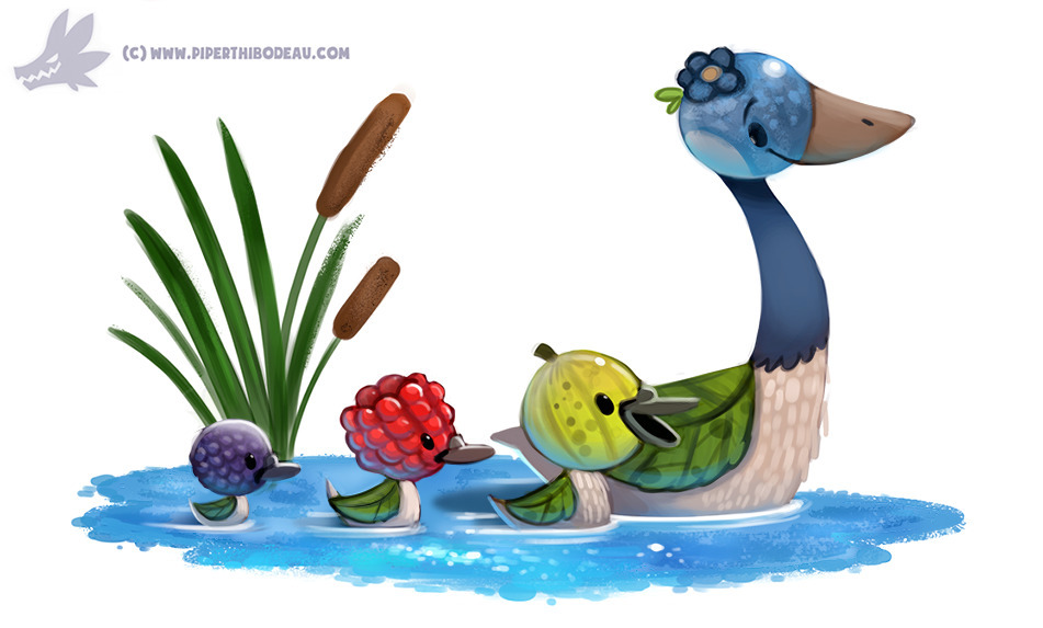 Daily Paint Gooseberries - 1169. - piperthibodeau | ello