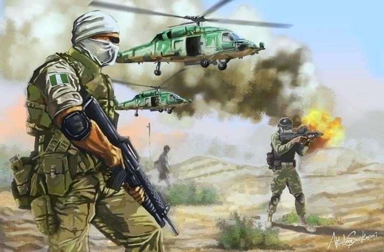 Frontline - Hunt - illustration - woody-2265   ello