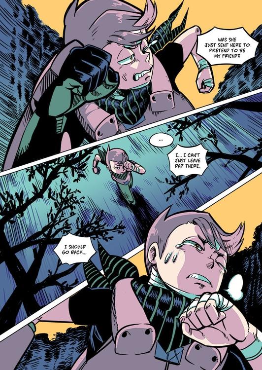 OHKO Chapter 4 Page 14 - comic, webcomics - maximo-1679 | ello