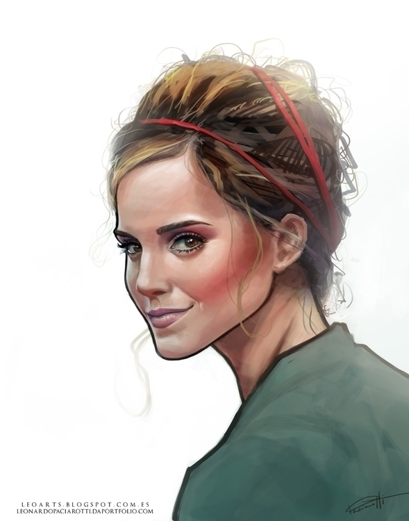Emma Watson - emmawatson - leoarts | ello