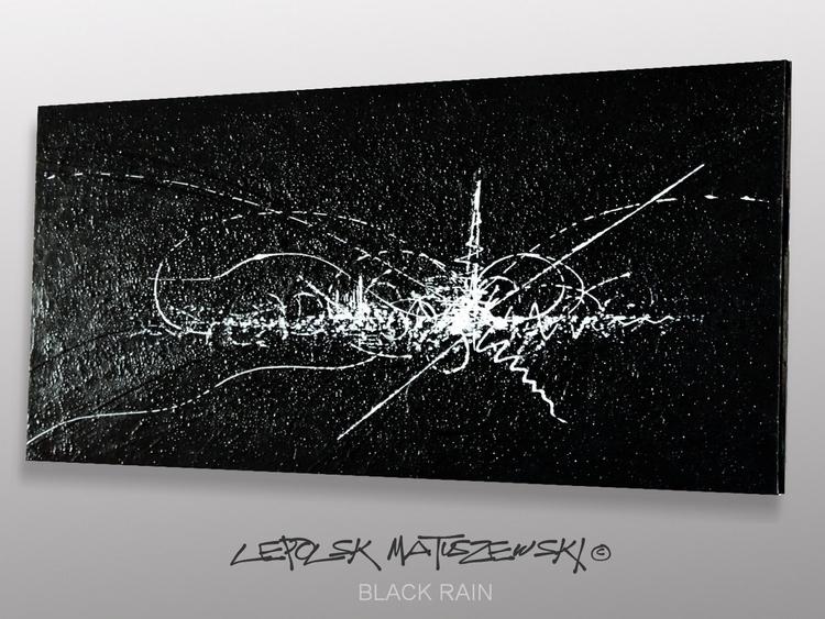 BLACK RAIN Lepolsk 120x60cm Abs - lepolsk-1257 | ello