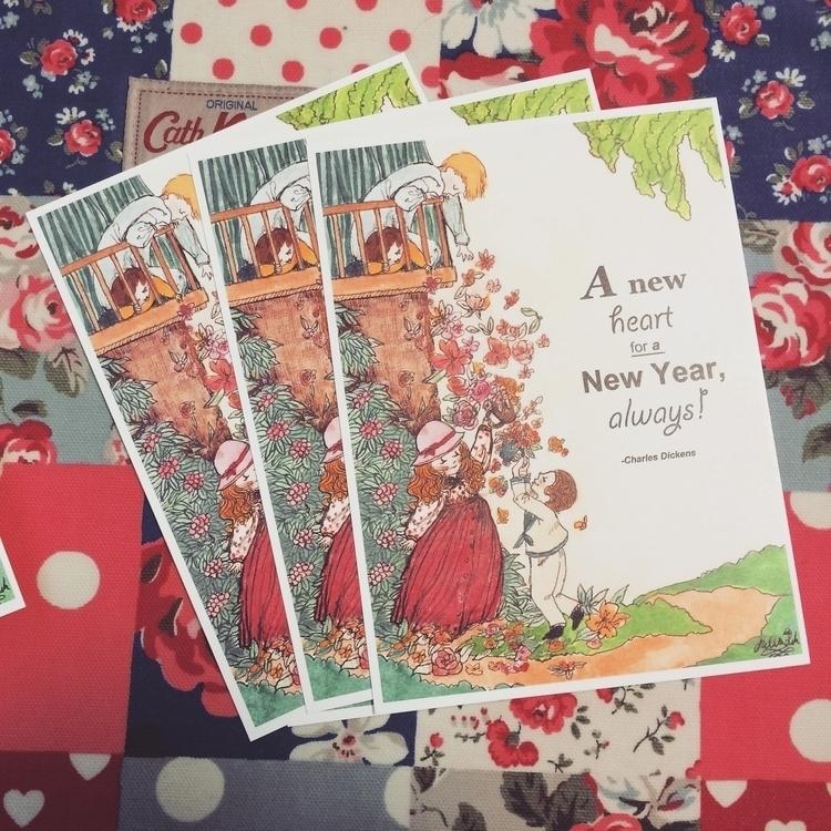 card - newyear'sgreetings, greetingcard - juliasuh-2557 | ello