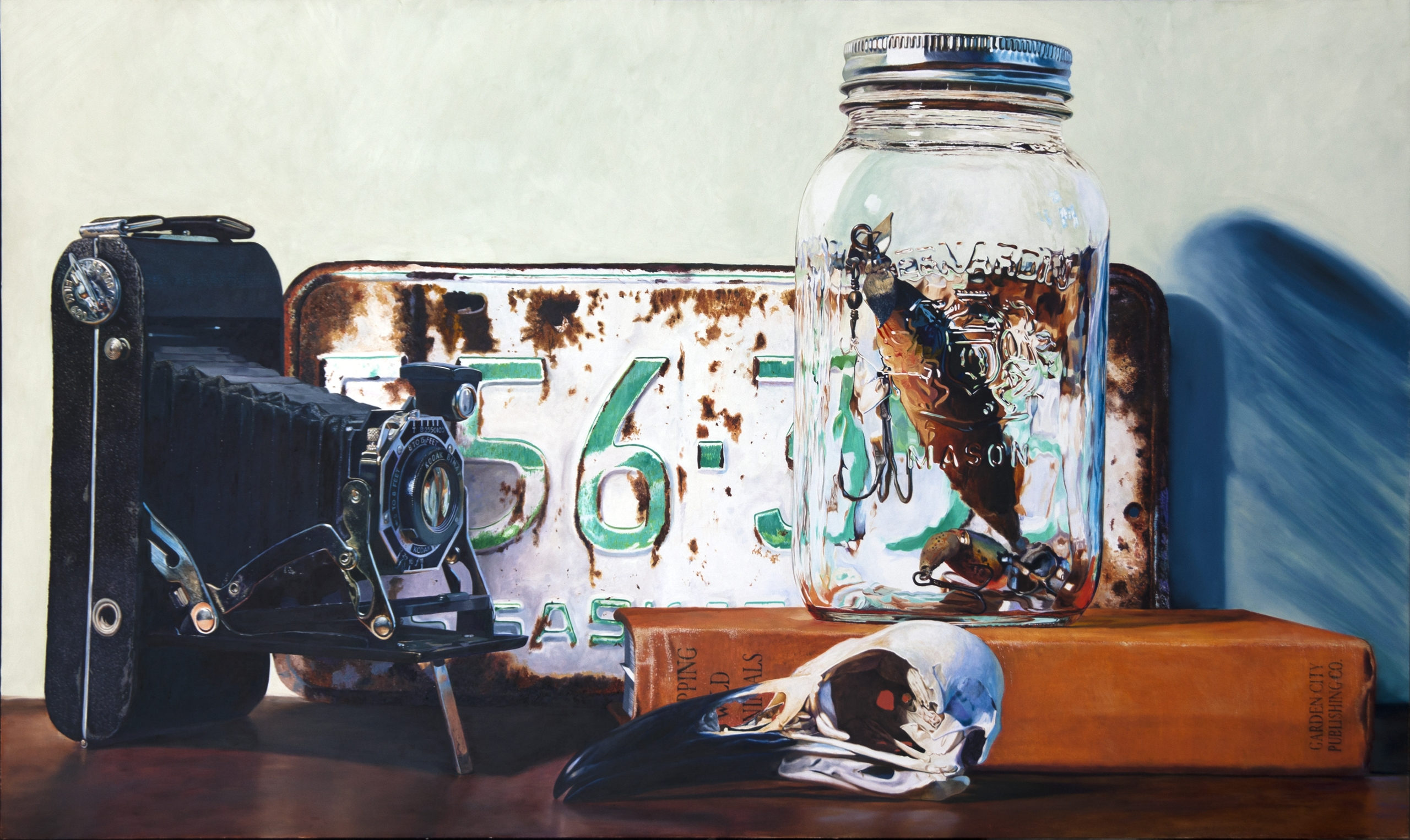 objects capture oil panel 36in  - richardajacobson | ello