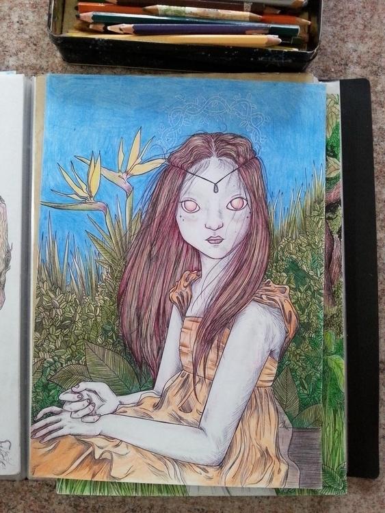 illustration, characterdesign - pegasoul | ello
