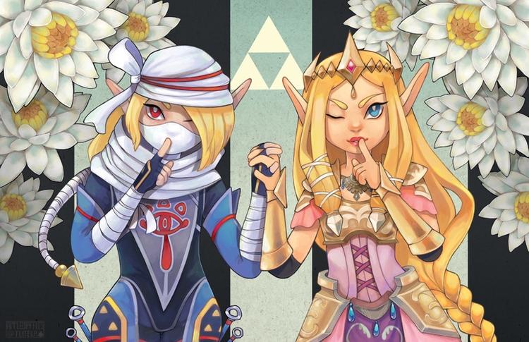 favorite princess - zelda, sheik - applewaffles | ello