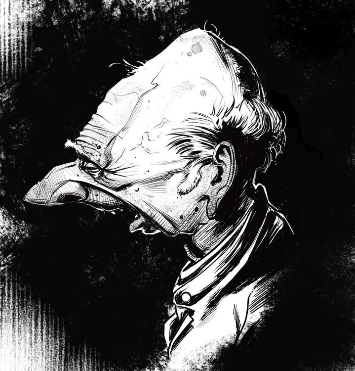 Ink - illustration - tim-1305 | ello